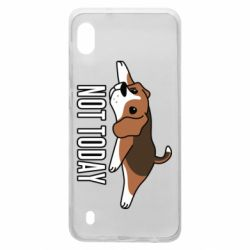 Чехол для Samsung A10 Dog not today