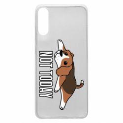 Чехол для Samsung A70 Dog not today