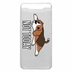 Чехол для Samsung A80 Dog not today