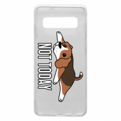 Чехол для Samsung S10 Dog not today