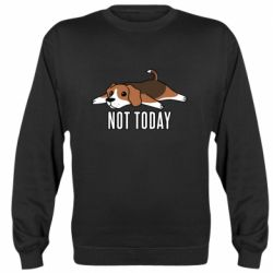 Реглан (свитшот) Dog not today