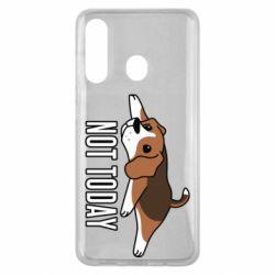 Чехол для Samsung M40 Dog not today
