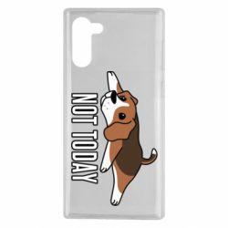 Чехол для Samsung Note 10 Dog not today