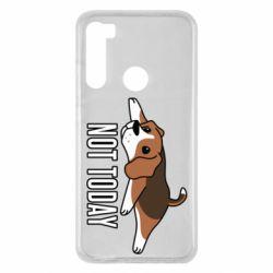 Чехол для Xiaomi Redmi Note 8 Dog not today