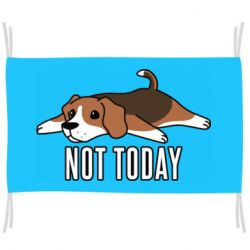 Флаг Dog not today