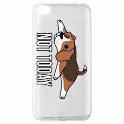 Чехол для Xiaomi Redmi Go Dog not today
