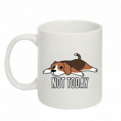 Кружка 320ml Dog not today