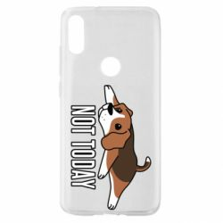 Чехол для Xiaomi Mi Play Dog not today
