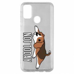 Чехол для Samsung M30s Dog not today