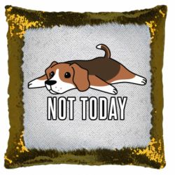 Подушка-хамелеон Dog not today