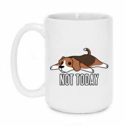 Кружка 420ml Dog not today
