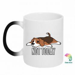 Кружка-хамелеон Dog not today