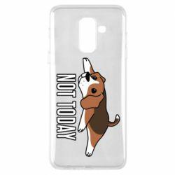 Чехол для Samsung A6+ 2018 Dog not today