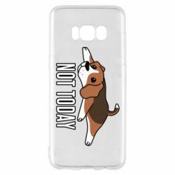 Чехол для Samsung S8 Dog not today