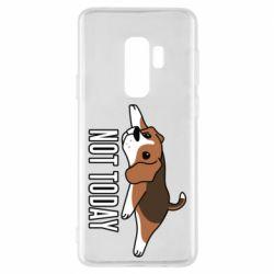 Чехол для Samsung S9+ Dog not today
