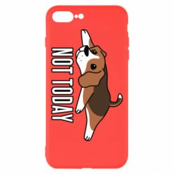 Чехол для iPhone 8 Plus Dog not today