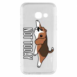 Чехол для Samsung A3 2017 Dog not today