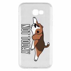 Чехол для Samsung A7 2017 Dog not today