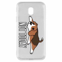 Чехол для Samsung J3 2017 Dog not today