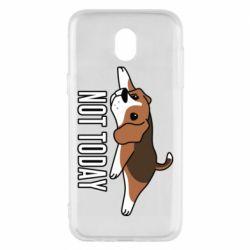 Чехол для Samsung J5 2017 Dog not today