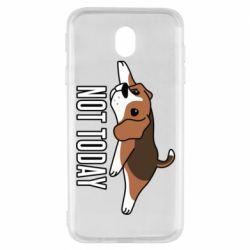 Чехол для Samsung J7 2017 Dog not today