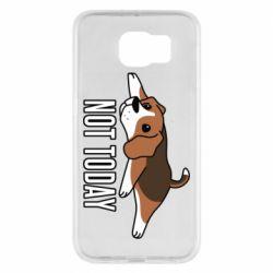 Чехол для Samsung S6 Dog not today
