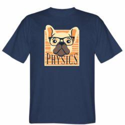 Мужская футболка Dog Physicist