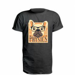 Удлиненная футболка Dog Physicist