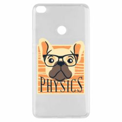 Чехол для Xiaomi Mi Max 2 Dog Physicist
