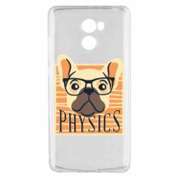 Чехол для Xiaomi Redmi 4 Dog Physicist