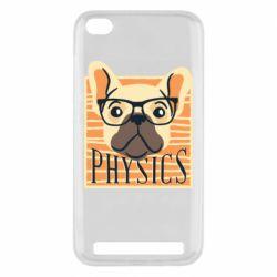 Чехол для Xiaomi Redmi 5A Dog Physicist