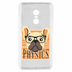 Чехол для Xiaomi Redmi Note 4 Dog Physicist