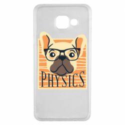 Чехол для Samsung A3 2016 Dog Physicist