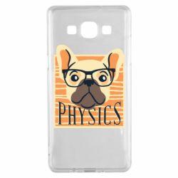 Чехол для Samsung A5 2015 Dog Physicist