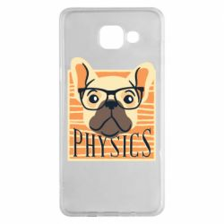 Чехол для Samsung A5 2016 Dog Physicist