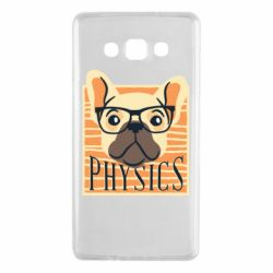 Чехол для Samsung A7 2015 Dog Physicist