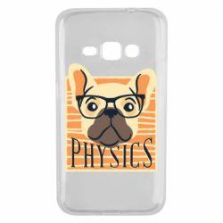Чехол для Samsung J1 2016 Dog Physicist