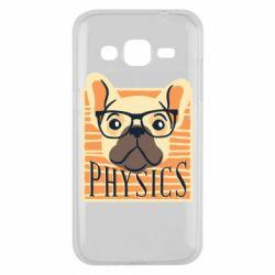 Чехол для Samsung J2 2015 Dog Physicist