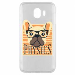 Чехол для Samsung J4 Dog Physicist