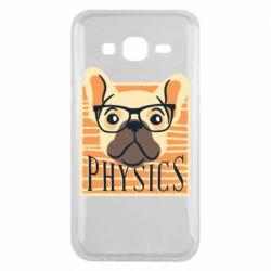 Чехол для Samsung J5 2015 Dog Physicist