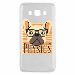 Чехол для Samsung J5 2016 Dog Physicist