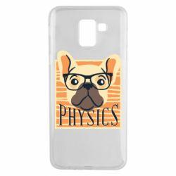 Чехол для Samsung J6 Dog Physicist