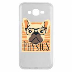 Чехол для Samsung J7 2015 Dog Physicist
