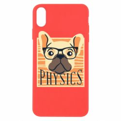 Чехол для iPhone Xs Max Dog Physicist