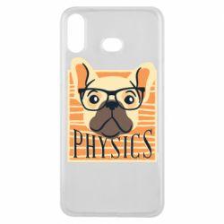 Чехол для Samsung A6s Dog Physicist