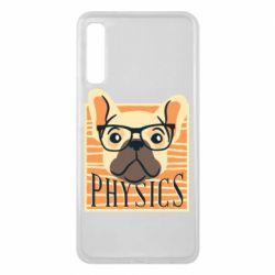 Чехол для Samsung A7 2018 Dog Physicist