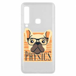 Чехол для Samsung A9 2018 Dog Physicist