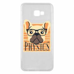 Чехол для Samsung J4 Plus 2018 Dog Physicist