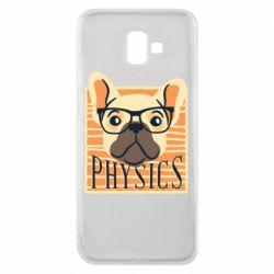 Чехол для Samsung J6 Plus 2018 Dog Physicist