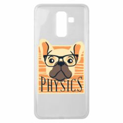 Чехол для Samsung J8 2018 Dog Physicist